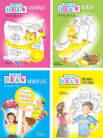 How to Draw Series (A set of 4 books)
