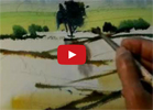 Well-known Painter Milind Mulick's demo of a landscape
