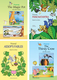 Pictorial Stories Set (4 books)